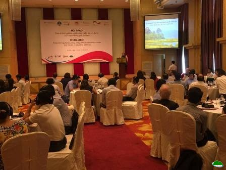 "Workshop ""Integrated spatial planning: Integrating ecosystem services and climate change into planning"""